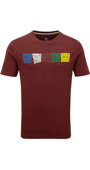 Sherpa Tarcho t-shirt Heren rood
